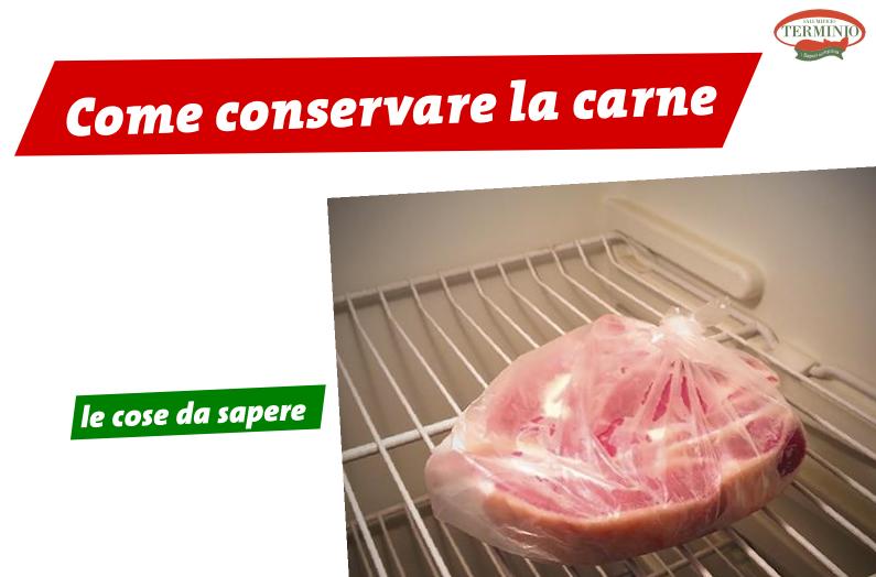 Conservare la carne, cosa c'è da sapere