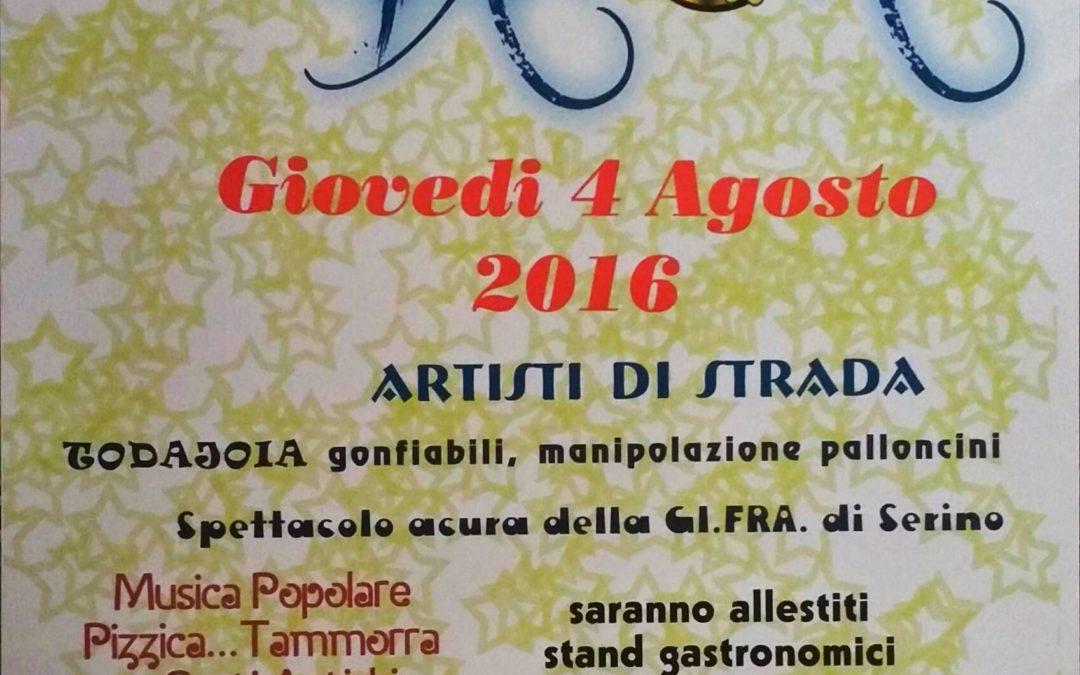 Notte bianca a Serino, tutto pronto per il 4 agosto