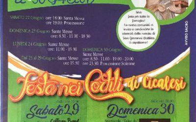 """Nocera festeggia San Giovanni, torna """"Festa nei Cortili di Cicalesi"""""""